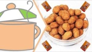 Video: How To Make Coated Peanuts, Peanut Burger, Peanuts